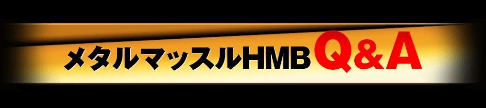 メタルマッスルHMBQ&A